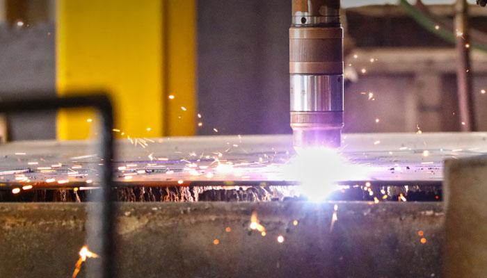 Apollo Steel Company - 2D Plasma Cutting