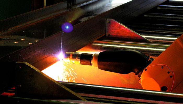 Apollo Steel Company - 3D Plasma Cutting